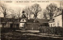Meslay - Entrée du Chateau - Meslay
