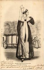 Anciens Costumes de Normandie Jeune fille de Bayeux 14 Bayeux