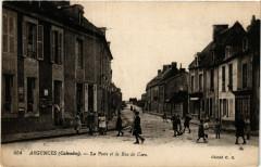 Argences - La PoSainte-et la Rue de Caen - Argences