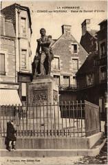Conde-sur-Noireau - Statue de Dumont d'Urville - Urville