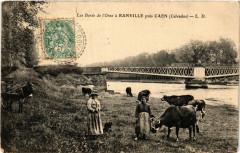 Ranville - Les Bords de L'Orne a Ranville pres Caen - Ranville