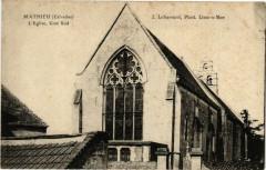Mathieu - L'Eglise - Mathieu