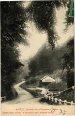 Gouvix - Entrée du Parc d'Outrelaize - Gouvix