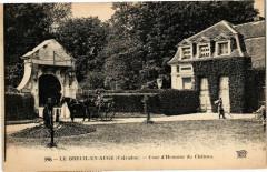 Le Breuil en Auge - Cour d'Honneur du Chateau - Le Breuil-en-Auge