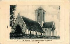 Environs de Saint-Sylvain - Eglise de Fierville la Campagne - Saint-Sylvain