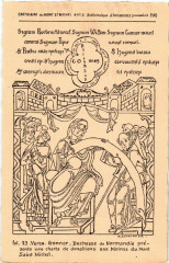 Avranches - Cartulaire du Mont Saint-Michel - Bibliotheque Avranches - Avranches