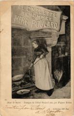 Le Mont Saint-Michel - Enseigne de l'Hotel Poulard Ainé - Le Mont-Saint-Michel