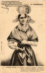 Avranches - Coiffes d'Hier - Jeune Femme - Folklore - Type - Avranches