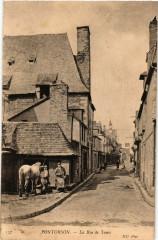 Pontorson - La Rue de Tanis - Pontorson