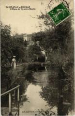 Saint-Jean-le-Thomas - L'Etang de l'Ancien Moulin - Saint-Jean-le-Thomas