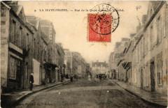La Haye-Pesnel - Rue de la Gare et Rue du Marché - La Haye-Pesnel