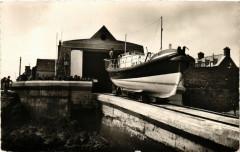 Barfleur - Le Canot de Sauvetage et la Station de Sauvetage - Barfleur