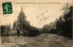 La Croix-Avranchin - Route de Sanit-James a Pontorson - Pontorson