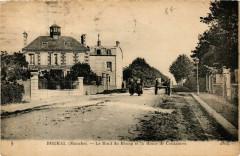 Brehal - Le Haut du Bourg et la Route de Coutances - Bréhal