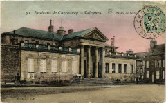 Valognes - Palais de Justice - Env. de Cherbourg - Valognes