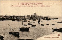 Barfleur - Le Port et les Quais - Barfleur