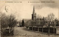Periers - L'Avenue de la Gare - Env. de Coutances - Périers