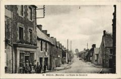Brehal - La Route de Cerence - Bréhal