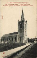 Quineville - Eglise et son clocher - Quinéville