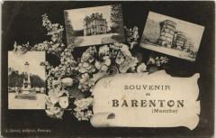 Barenton - Souvenir collage - Barenton