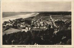 Carolles-Plage - Vue générale de la Plage et Jullouville - Jullouville