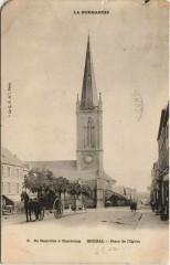Brehal - Place de l'Eglise - Bréhal