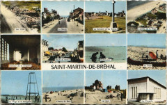 Saint-Martin-De-Brehal - Collage - Bréhal