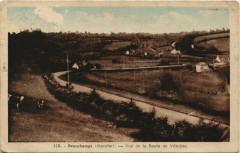 Beauchamps - Vue de la route de Villedieu - Beauchamps