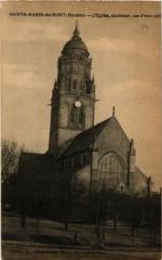 Sainte-Marie-du-Mont - Eglise - Exterieur - Vue d'ensemble - Sainte-Marie-du-Mont