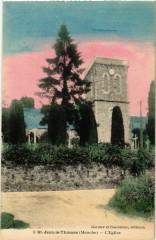 Saint-Jean-le-Thomas - Eglise - Saint-Jean-le-Thomas