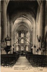Cerisy-la-Foret - Intérieur de Eglise - Cerisy-la-Forêt
