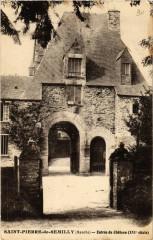 Saint-Pierre-de-Semilly - Entrée du Chateau - Saint-Pierre-de-Semilly