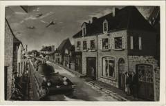 Sainte-Mere-Eglise - Peintures MURATes du Bar de la Liberation - Sainte-Mère-Église