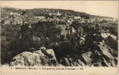 Mortain - Vue générale prise de Fresnayes - Nay