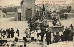 Saint-Pierre-Eglise Place de Marché, fete-Dieu - Saint-Pierre-Église
