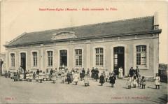 Saint-Pierre-Eglise Ecole communale de Filels - Saint-Pierre-Église