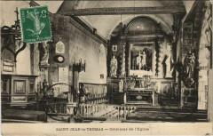 Saint-Jean-le-Thomas-Interieur de l'Eglise - Saint-Jean-le-Thomas
