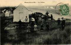 Montmartin-sur-Mer - Les Cabines - Montmartin-sur-Mer