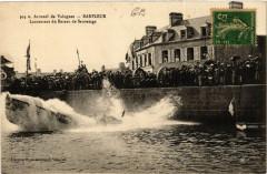 Arrond de Valognes - Barfleur - Lancement du Bateau de Sauvetage 50 Valognes