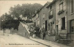 Sainte-Menehould Les Escaliers du Chateau - Sainte-Menehould