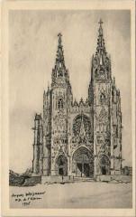 Notre Dame De L'Epine pres CHALONSsur Marne d'ap.un dessin - L'Épine