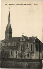 Braux-Sainte-Cohiere - L'Eglise - Braux-Sainte-Cohière