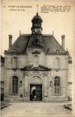 Vitry-le-Francois - L'Hotel de Ville - Vitry-le-François