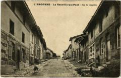 L'Argonne - La Neuville-au-Pont - Rue du Cimetiere - La Neuville-au-Pont