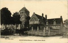 Courtisols - Eglise Saint-Martin - Courtisols