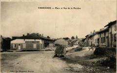 Verrieres Place et rue de la Perriere - Verrières