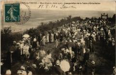 Bergeres-les-Vertus Mont-Aimé Inaug. De la Table d'Orientation - Bergères-lès-Vertus