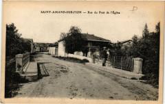Saint-Amand-Sur-Fion Rue du Pont de l'Eglise - Saint-Amand-sur-Fion