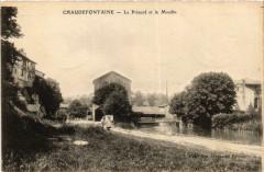 Chaudefontaine-Le Prieure et le Moulin - Chaudefontaine