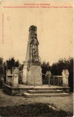 Passavant-en-Argonne Monument commemoratif du massacre - Passavant-en-Argonne